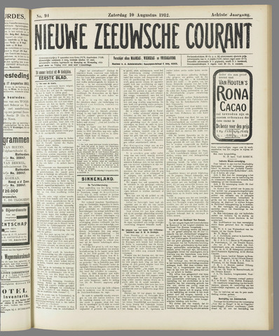 Nieuwe Zeeuwsche Courant 1912-08-10