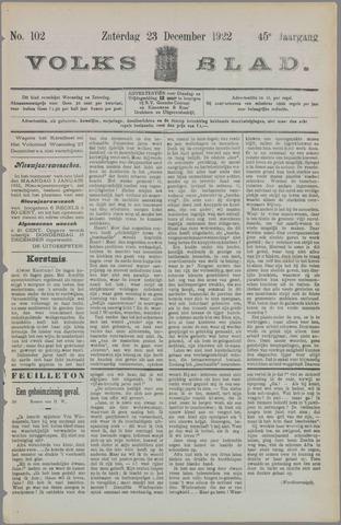 Volksblad 1922-12-23