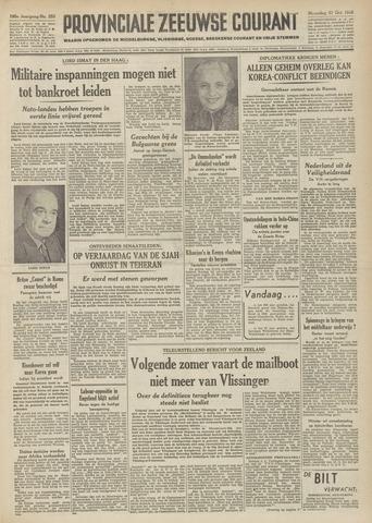 Provinciale Zeeuwse Courant 1952-10-27