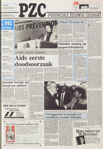 Provinciale Zeeuwse Courant 1988-01-27
