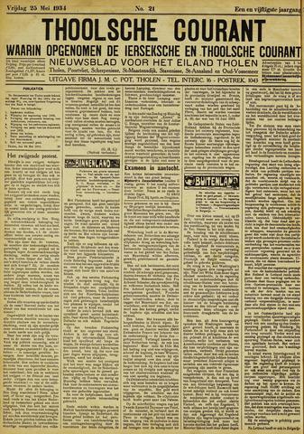 Ierseksche en Thoolsche Courant 1934-05-25