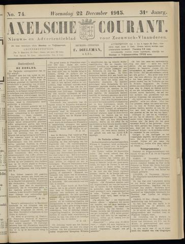 Axelsche Courant 1915-12-22