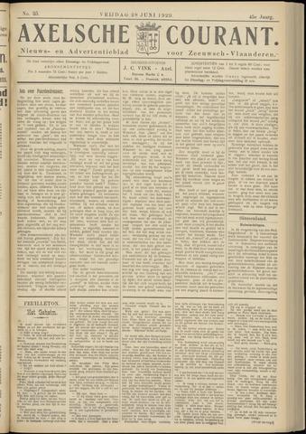 Axelsche Courant 1929-06-28
