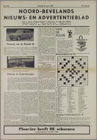 Noord-Bevelands Nieuws- en advertentieblad 1968-03-30