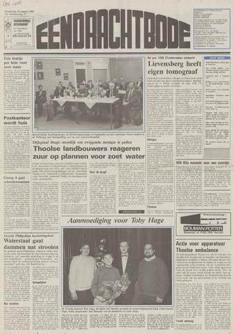 Eendrachtbode (1945-heden)/Mededeelingenblad voor het eiland Tholen (1944/45) 1989-01-26
