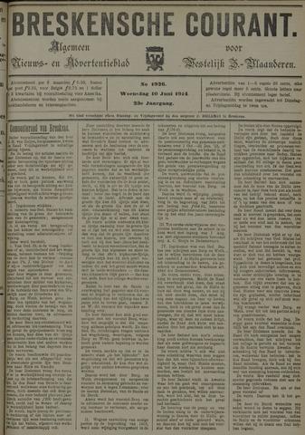 Breskensche Courant 1914-06-10