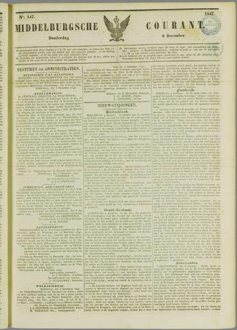 Middelburgsche Courant 1847-12-09