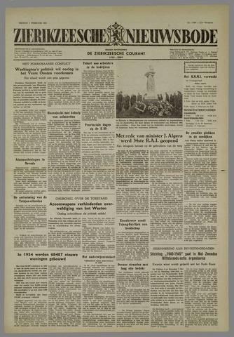 Zierikzeesche Nieuwsbode 1955-02-04