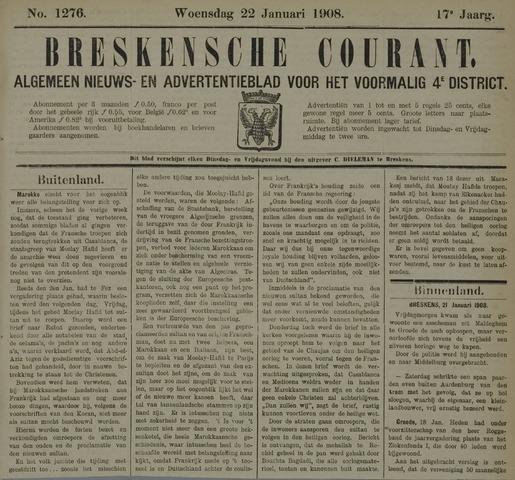 Breskensche Courant 1908-01-22