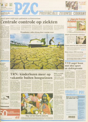 Provinciale Zeeuwse Courant 2003-07-24