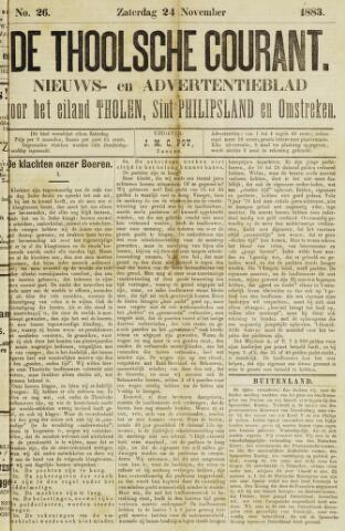 Ierseksche en Thoolsche Courant 1883-11-24