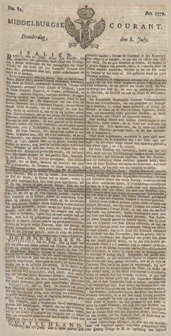 Middelburgsche Courant 1779-07-08