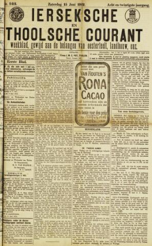 Ierseksche en Thoolsche Courant 1912-06-15