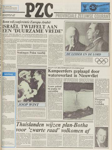Provinciale Zeeuwse Courant 1980-07-21