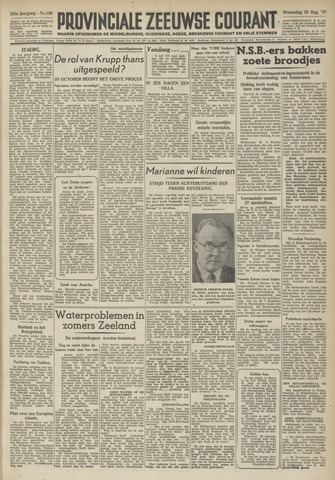 Provinciale Zeeuwse Courant 1947-08-20