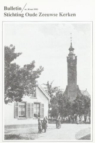Bulletin Stichting Oude Zeeuwse kerken 1993-05-01