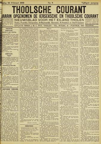 Ierseksche en Thoolsche Courant 1933-02-24