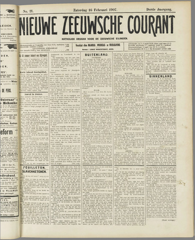 Nieuwe Zeeuwsche Courant 1907-02-16