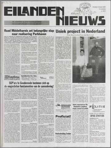 Eilanden-nieuws. Christelijk streekblad op gereformeerde grondslag 2000-02-08