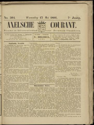 Axelsche Courant 1891-05-13