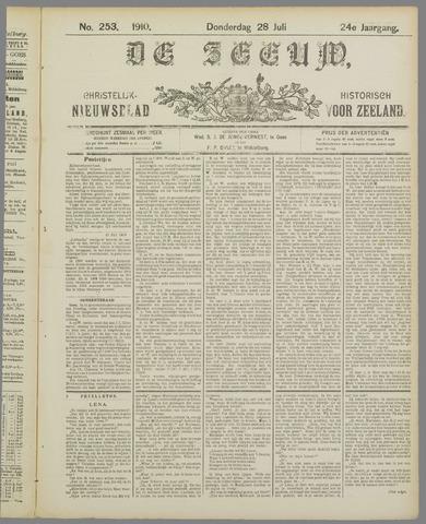 De Zeeuw. Christelijk-historisch nieuwsblad voor Zeeland 1910-07-28
