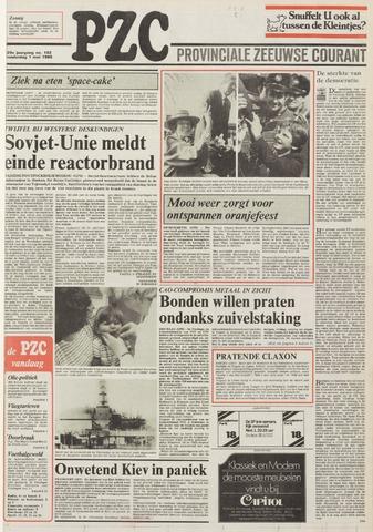 Provinciale Zeeuwse Courant 1986-05-01