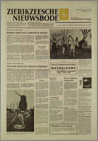 Zierikzeesche Nieuwsbode 1973-11-19