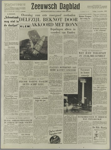 Zeeuwsch Dagblad 1959-11-06