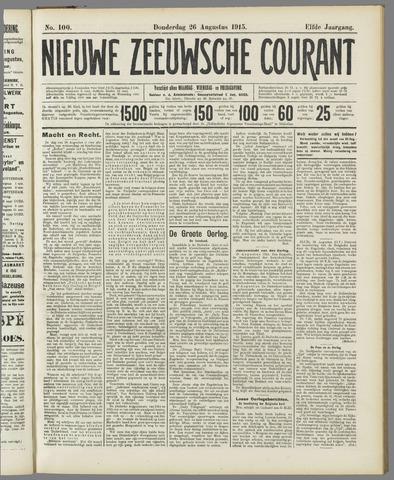 Nieuwe Zeeuwsche Courant 1915-08-26