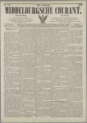 Middelburgsche Courant 1895-06-13