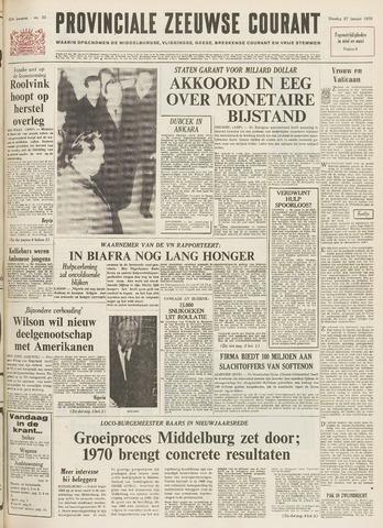 Provinciale Zeeuwse Courant 1970-01-27