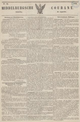 Middelburgsche Courant 1850-08-10