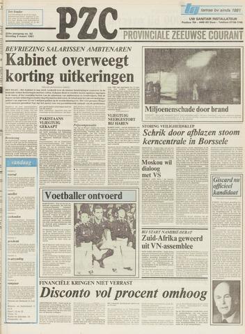 Provinciale Zeeuwse Courant 1981-03-03