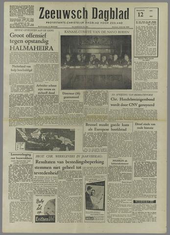 Zeeuwsch Dagblad 1958-05-12