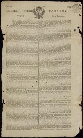 Middelburgsche Courant 1814-12-06