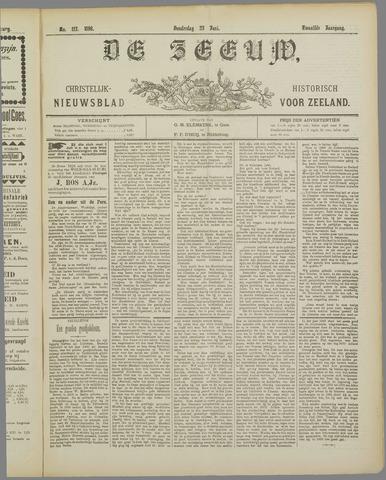 De Zeeuw. Christelijk-historisch nieuwsblad voor Zeeland 1898-06-23
