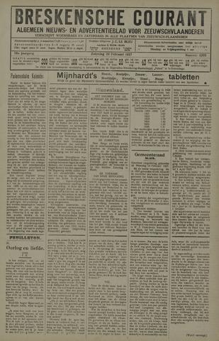 Breskensche Courant 1927-02-26