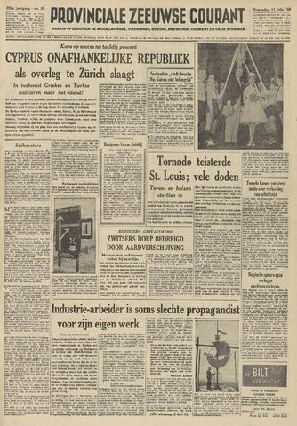 Provinciale Zeeuwse Courant 1959-02-11