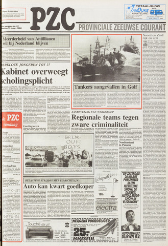 Provinciale Zeeuwse Courant 1988-03-19