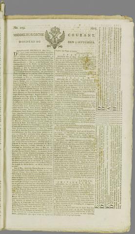 Middelburgsche Courant 1805-09-05