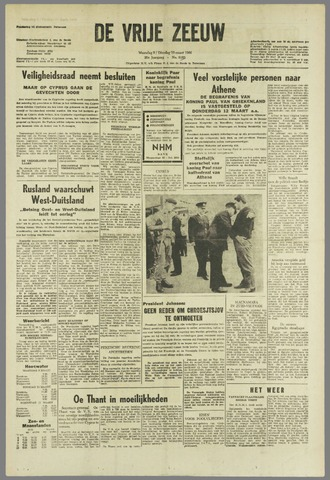 de Vrije Zeeuw 1964-03-09