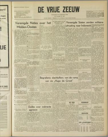 de Vrije Zeeuw 1958-08-20