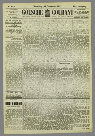 Goessche Courant 1927-11-30