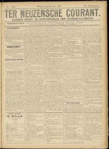 Ter Neuzensche Courant. Algemeen Nieuws- en Advertentieblad voor Zeeuwsch-Vlaanderen / Neuzensche Courant ... (idem) / (Algemeen) nieuws en advertentieblad voor Zeeuwsch-Vlaanderen 1926-06-23