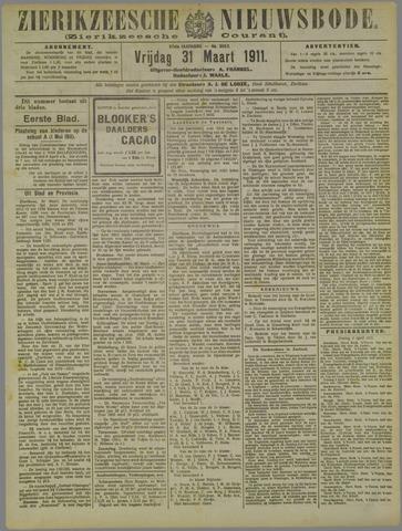 Zierikzeesche Nieuwsbode 1911-03-31