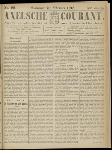 Axelsche Courant 1918-02-20