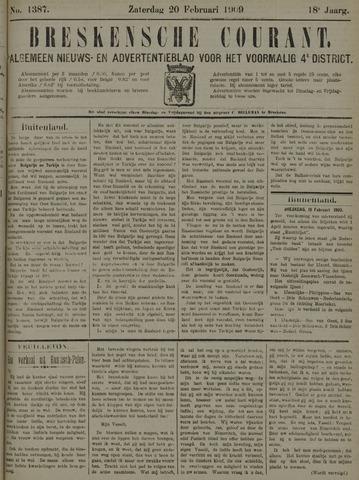 Breskensche Courant 1909-02-20