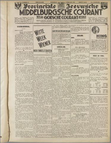 Middelburgsche Courant 1933-02-08