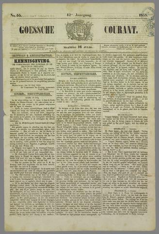 Goessche Courant 1855-07-16