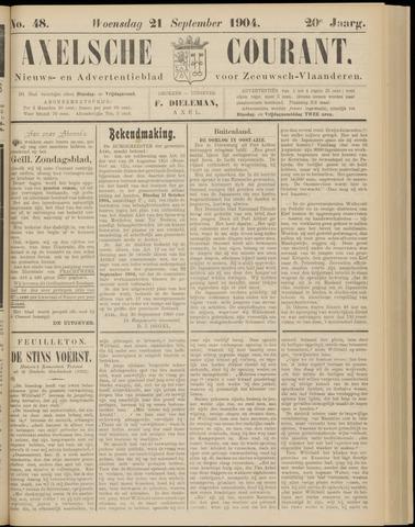 Axelsche Courant 1904-09-21